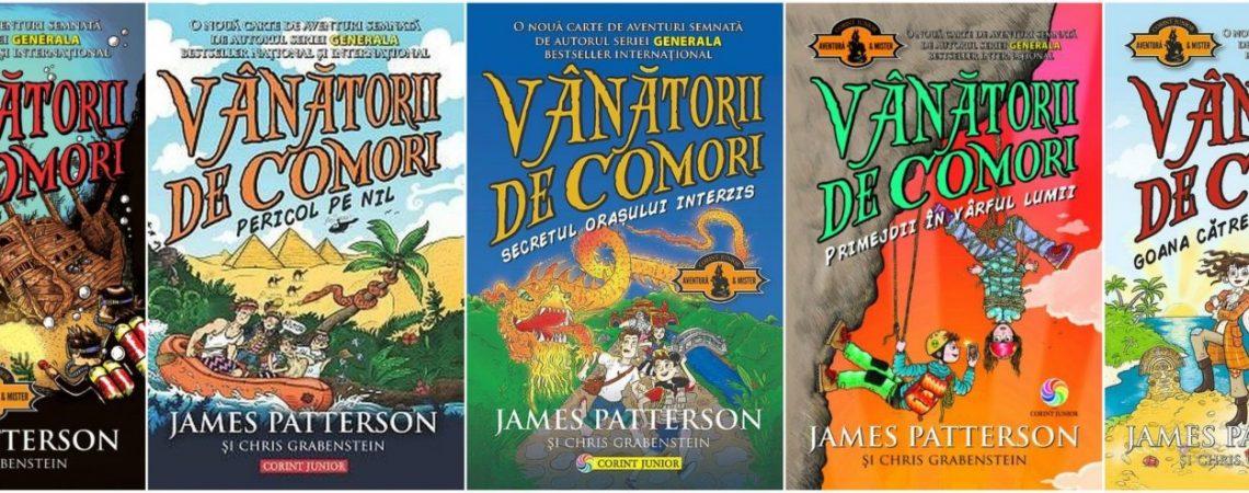 """""""Vânătorii de comori"""" – o serie de romane de aventură pentru copii"""