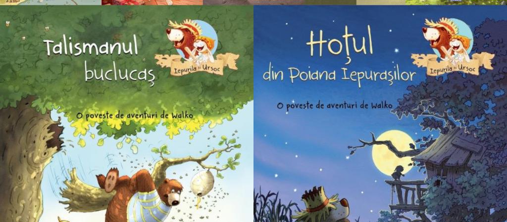 Iepurilă și UrSoc, o serie de cărți pentru copii pline de aventură și peripeții