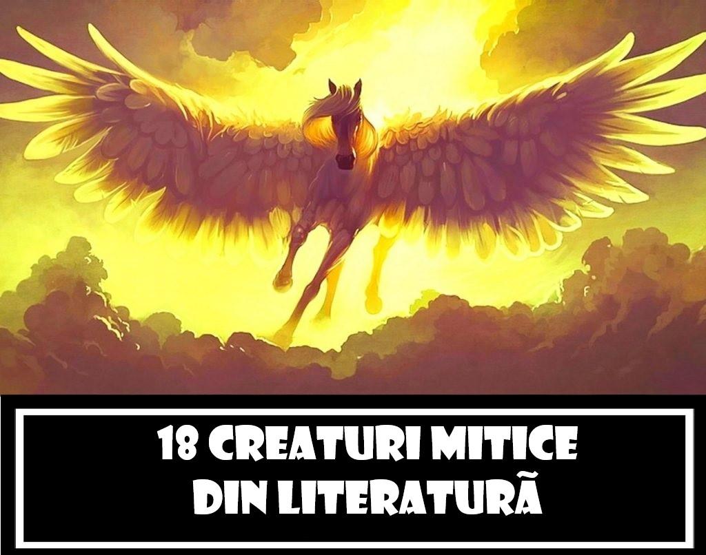 18 creaturi mitice din literatură