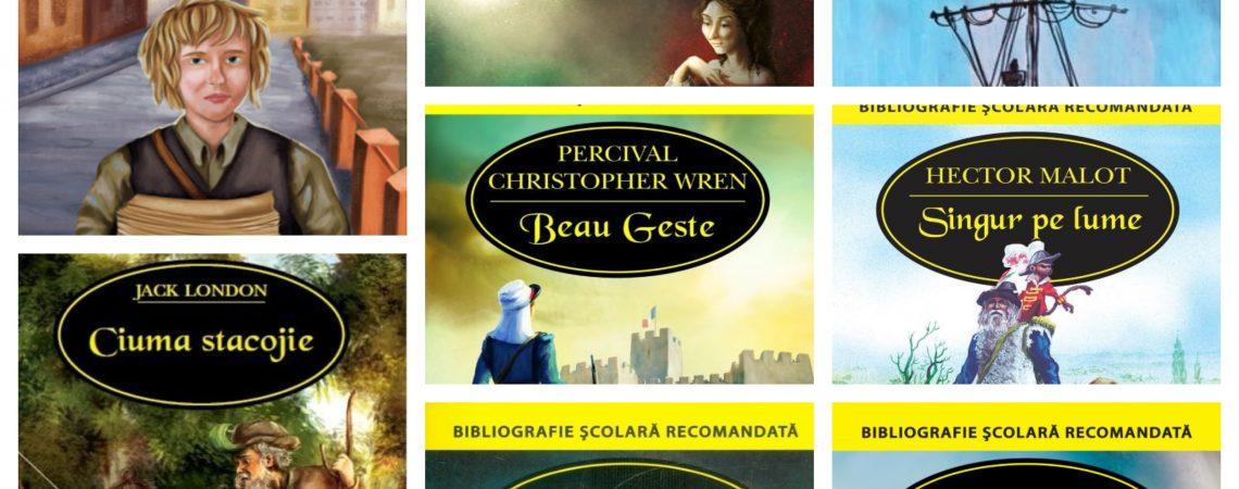 Seria de literatură universală: bibliografie școlară recomandată